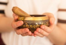 Sound healing training bowls