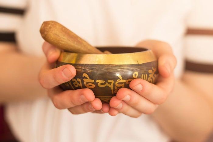 Sound healing training bowls