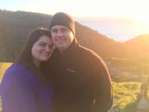 Loving couple by the sunset - how to heal