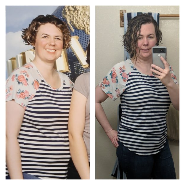 Jessaca before and after weight loss success