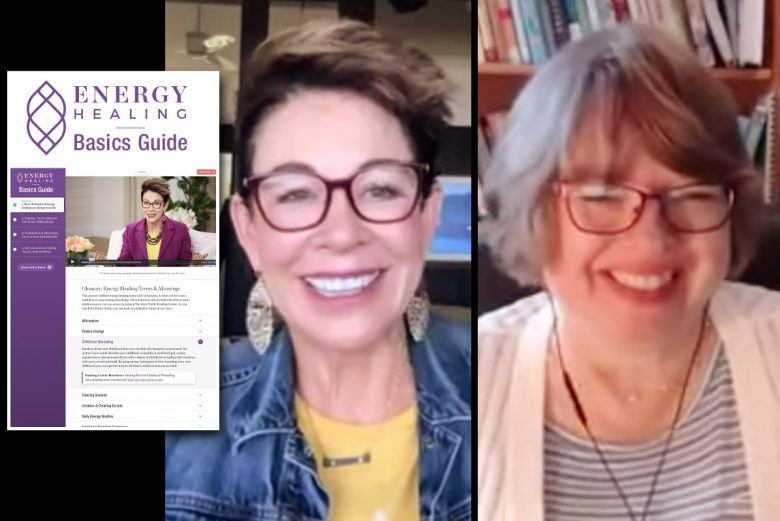 Carol and Benice talking about Energy Healing Basics Guide