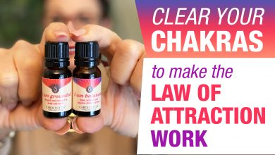 clear your chakras to get the law of attraction working