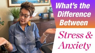 Differences between stress and anxiety
