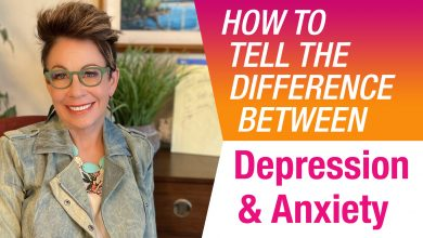 What is the difference between depression and anxiety?
