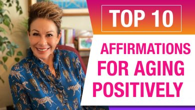 10 affirmations for aging positively