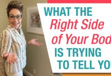 What the right side of the body is trying to tell you